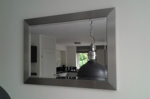 RVS spiegellijst 2c