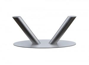 Glazen Salontafel Met Aluminium Poten.Rvs Eet En Salontafels Bd Rvs Designs