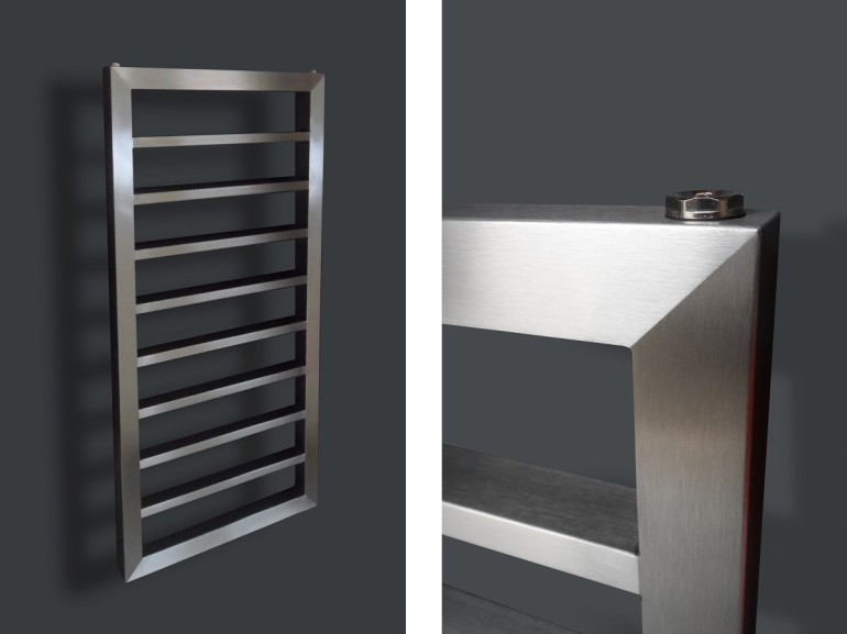 Keuken Radiatoren Design : BD RVS Designs ? RVS design radiator Desire 4